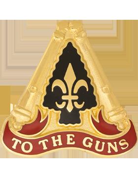 0054 Field Artillery Brigade Unit Crest (To The Guns)