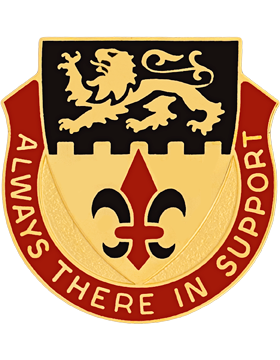 55th Personnel Services Battalion Unit Crest (Always There In Support)