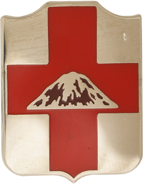 0056 Medical Battalion Unit Crest (No Motto)