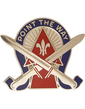 0076 Infantry Brigade Unit Crest (Point The Way)