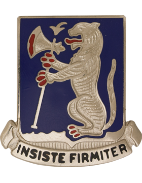 77th Armor Unit Crest (Insiste Firmiter)