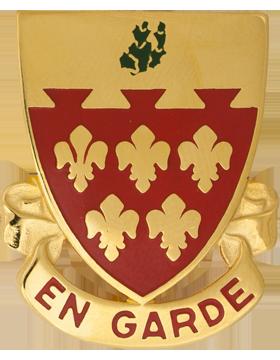 0077 Field Artillery Unit Crest (En Garde)