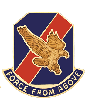 0077 Aviation Brigade Unit Crest (Force From Above)
