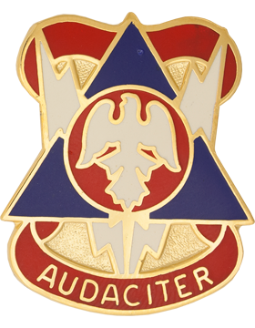 0078 Division (Training Support) Unit Crest (Audaciter)