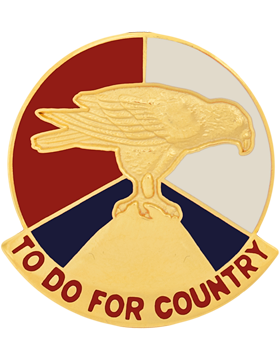 0079 Army Reserve Command Unit Crest Right (To Do For Country)