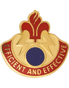 79th Ordnance Battalion Unit Crest (Efficient And Effective)