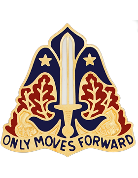 80th Training Division Unit Crest (Only Moves Forward)