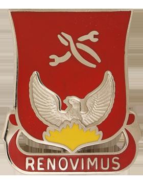 0080 Ordnance Battalion Unit Crest (Renovimus)