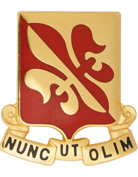 80th Regiment Civilian Support Team Unit Crest (Nunc Ut Olim)