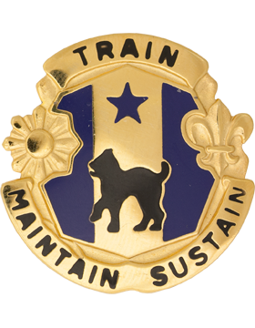 81st Army Reserve Command Unit Crest (Train Maintain Sustain)