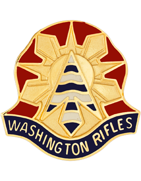 81st Armor Brigade Unit Crest (Washington Rifles)