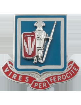 0001 Bde 1 Cavalry Spl Troops Bn Unit Crest (Vires Per Ferocite)