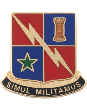 Special Troops Battalion, 1 BCT, 1 Armored Division Unit Crest