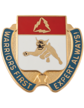 0001 Bde 3 Div Spl Trps Unit Crest (Warriors First Expert Always!)