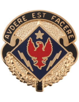 1st Brigade 4th Infantry Special Troops Battalion Unit Crest (Avdere Est Facere)