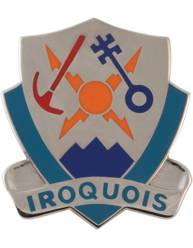 1st Brigade 10th Mountain Special Troops Battalion Unit Crest (Iroquois)