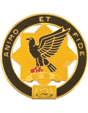 0001 Cavalry Unit Crest (Animo Et Fide)