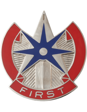 1st Support Command Unit Crest (First)