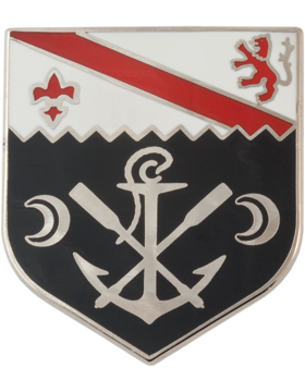 1st Engineer Battalion Unit Crest (No Motto)