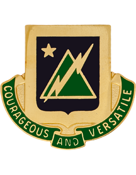 0001 Combined Arms Bn 5 Bde 1 Armd DIv Unit Crest (Courageous and Verstile)