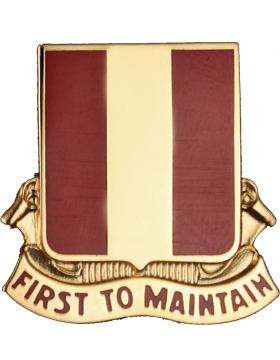 0001 Maintenance Bn Unit Crest (First To Maintain)