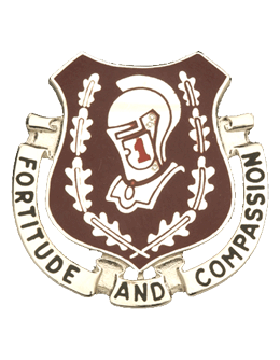 0001 Medical Brigade Unit Crest (Fortitude And Compassion)