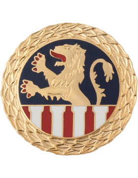 0001 Personnel Command (Left) Unit Crest (No Motto)