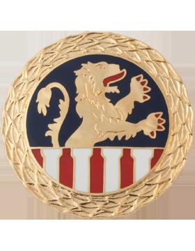 1st Personnel Command (Right) Unit Crest (No Motto)