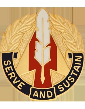 1st Personnel Group Unit Crest (Serve And Sustain)