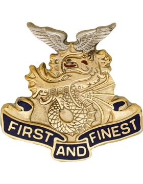 1st Transportation Battalion Unit Crest (First And Finest)
