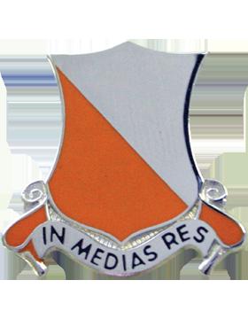 1st Signal Battalion Unit Crest (In Medias Res)