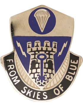 0002 Bde 82 Airborne Special Troops Bn Unit Crest (From Skies Of Blue)