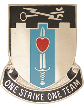 0002 Bde 101 Airborne Special Troops Bn Unit Crest (One Strike One Team)