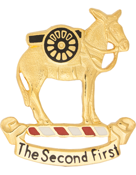 2nd Field Artillery (Right) Unit Crest (The Second First)