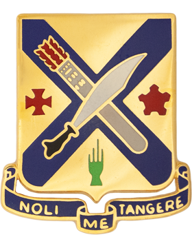 2nd Infantry Unit Crest (Noli Me Tangere)