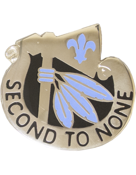 2nd Infantry Division Unit Crest (Second To None)