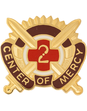 2nd Medical Brigade Unit Crest (Center Of Mercy)