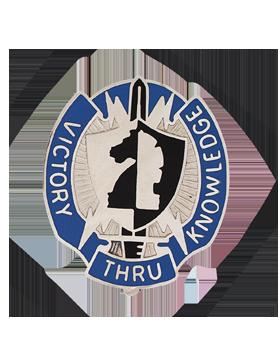 2nd Military Intelligence Cmd Unit Crest (Victory Thru Knowledge)