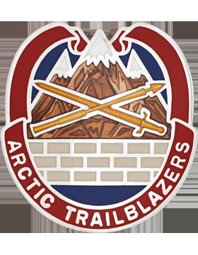 2nd Engineer Brigade Unit Crest (ARCTIC TRAILBLAZERS)