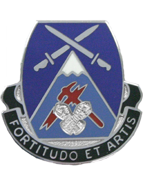 3rd Brigade 10th Mountain Special Troops Battalion Unit Crest
