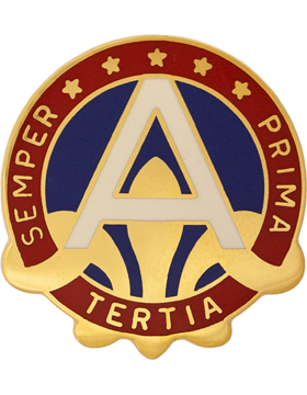 3rd Army Unit Crest (Semper Prima Tertia)