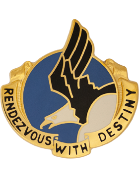 0101 Airborne Division Unit Crest (Rendezvous With Destiny)