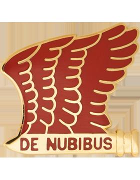 0101 Airborne Division Artillery Unit Crest (De Nubibus)