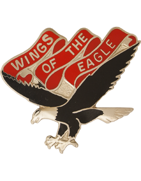 101st Aviation Brigade Unit Crest (Wings Of The Eagle)