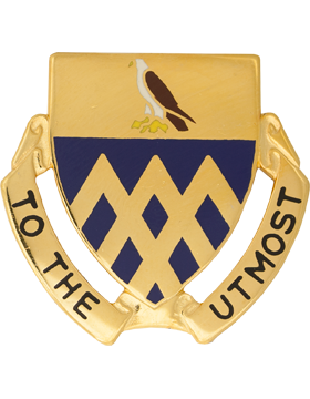 101st Cavalry Unit Crest (To The Utmost)