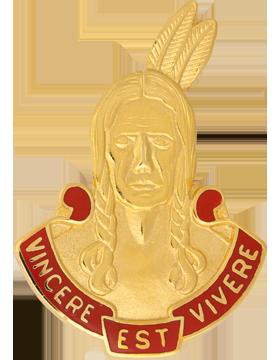 0101 Field Artillery Unit Crest (Vincere Est Vivere)