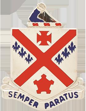 0101 Infantry Unit Crest (Semper Paratus)