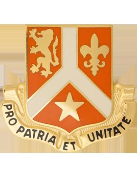 0101 Signal Bn Unit Crest (Pro Patria Et Unitate)