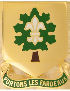 0101 Support Bn Unit Crest (Portons Les Fardeaux)
