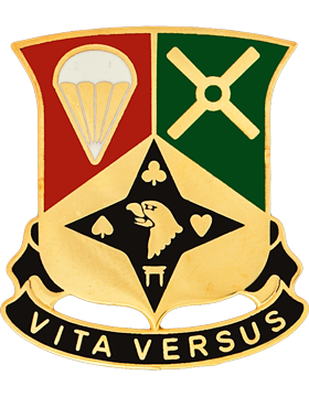 0101 Sustainment Bde Unit Crest (VITA VERSUS)